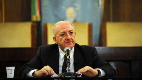 Presidente regione Campania, Vincenzo de luca, partito democratico