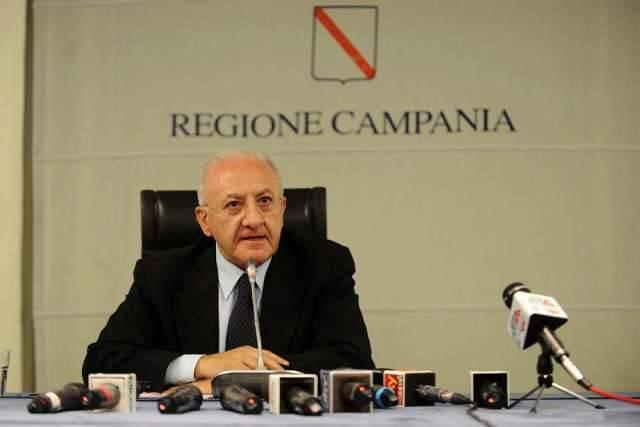 Vincenzo De Luca governatore della campania
