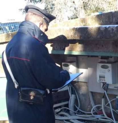 carabinieri-furto-energia-elettrica