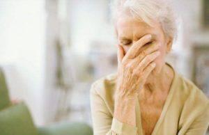 Demenza senile anziani