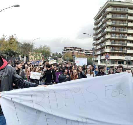 Sciopero studenti ad Avellino