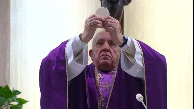 Celebrazione Messa di Papa Francesco