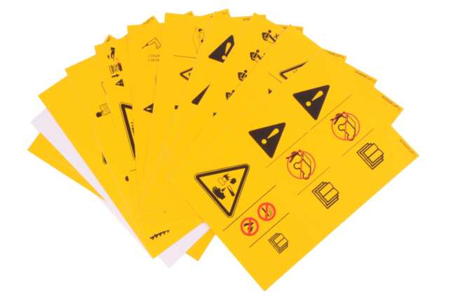 Adesivi sicurezza, come evitare danni e reclami