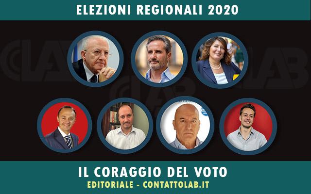 Le Elezioni Regionali ed il coraggio di andare a votare