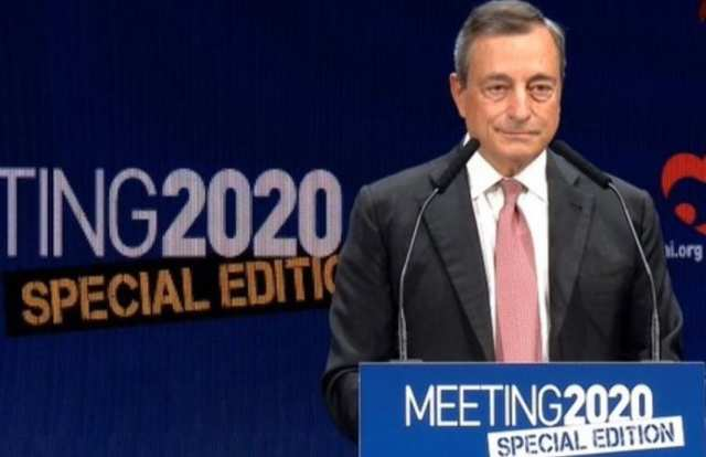 Meeting dell'Amicizia, Mario Draghi da una scossa al governo