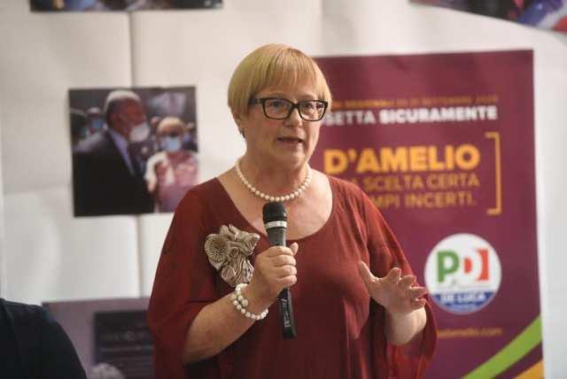 """Intervista a Rosa D'Amelio: """"In questi cinque anni si è lavorato bene per l'irpiniae le zone interne."""