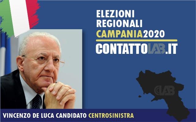 Elezioni regionali 2020, le 15 liste a sostegno di De Luca: tutti i candidati