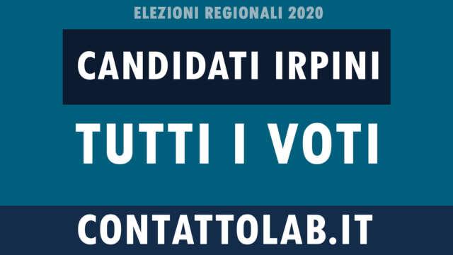 Election day 2020: tutti i VOTI dei candidati in Irpinia. Ecco gli eletti.