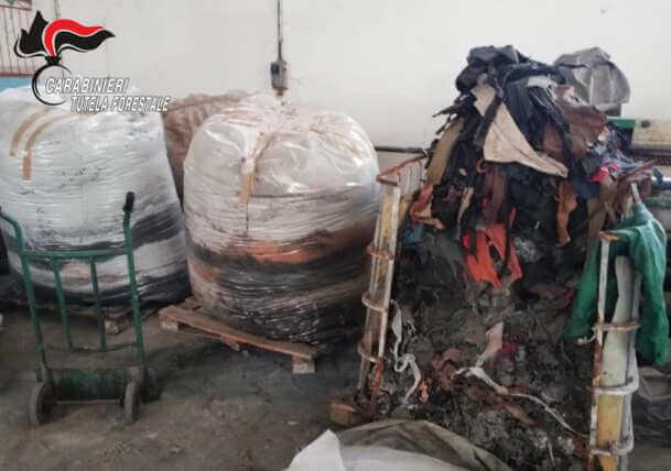 Solofra, sequestrata conceria che inquinava il Torrente Solofrana. 6 denunciati