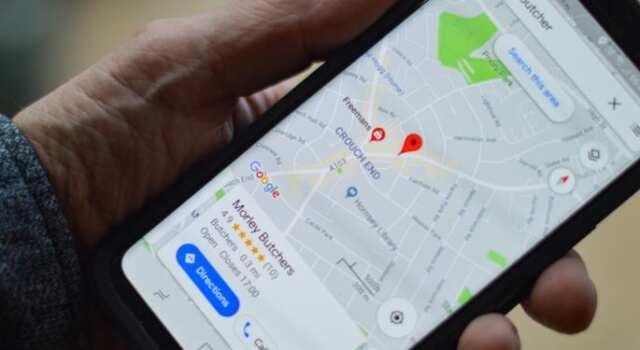 Google Maps segnala il numero di contagi da Covid-19