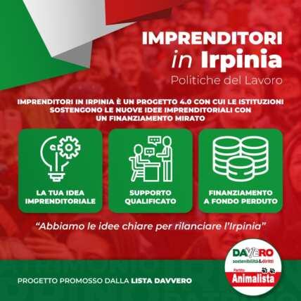 Nasce #ProgettazioneIrpinia, un programma di rilancio per l'irpinia, ideato dal movimento DAVVERO.