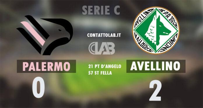 L'Avellino batte il Palermo 2-0 e vola a punteggio pieno.