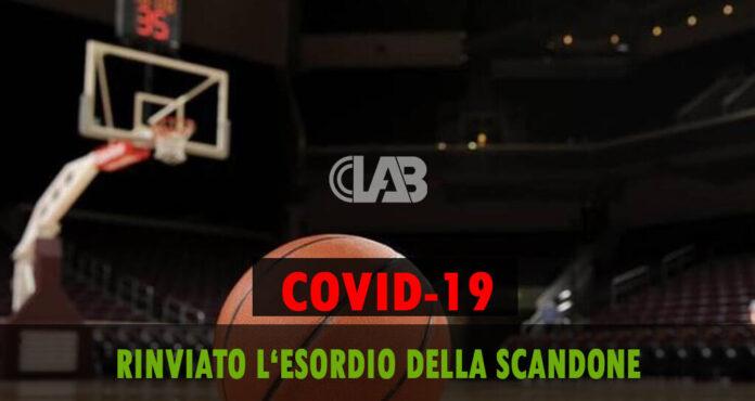 Covid-19, Scandone - Sant'Antimo rinviata per motivi precauzionali