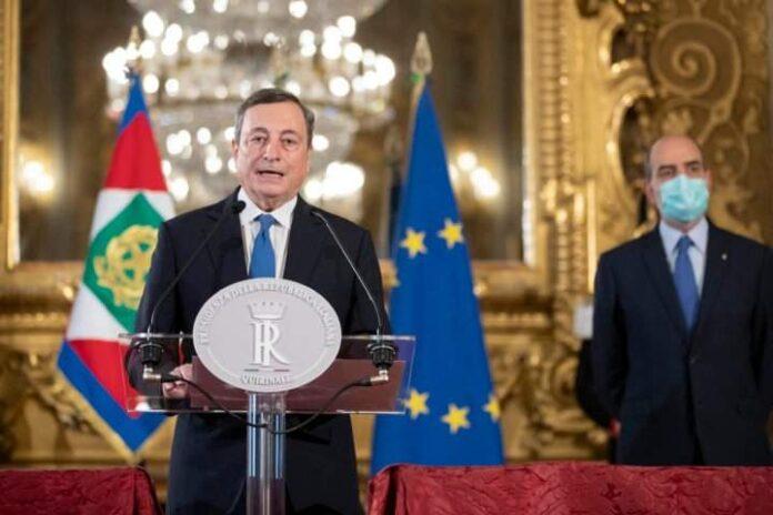 Mario Draghi accetta l'incarico da Premier. Ecco la lista dei ministri